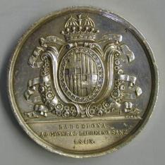 Barcelona al general Laureano Sanz