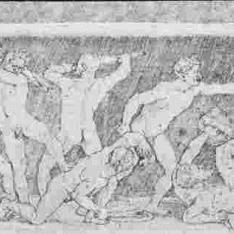Batalla de hombres desnudos