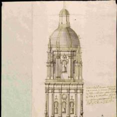 Proyecto para reforzar el fuste de la torre de la catedral de Salamanca
