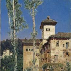 La Torre de las Damas en la Alhambra de Granada