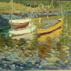 Barcas en Pasajes