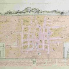 Plan Ignographico de la Villa de Lluchmayor