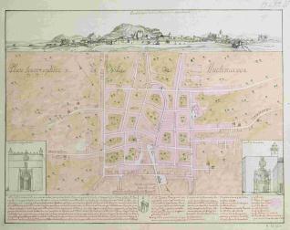 Plan Ignographico de la Villa de Lluchmayor