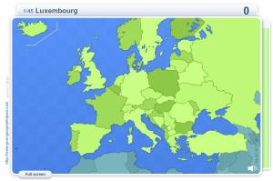 Geo Quizz Europe . Geography map games