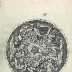 Asamblea de dioses en el Olimpo