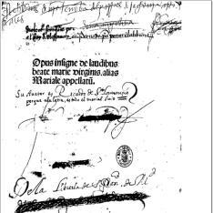 De laudibus Beatae Mariae Virginis libri XII, vel Mariale