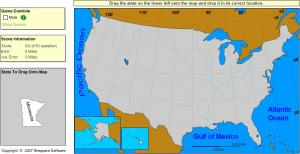States of United States. Explorer. Sheppard Software
