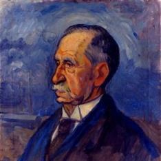 Retrato de don Federico Echevarría. Padre del pintor