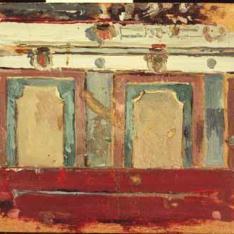 Detalle de la ornamentación de un muro