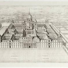 Perspectiva general del Monasterio de San Lorenzo de El Escorial