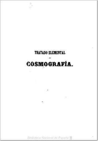 Tratado elemental de cosmografía