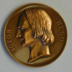 Medalla conmemorativa de Victor Hugo