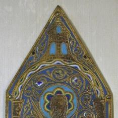 Lateral de arqueta con representación de San Pablo