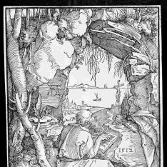 San Jerónimo en la cueva