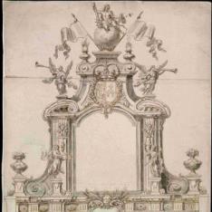 Arco de triunfo para la entrada de Felipe V en Madrid