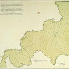 Plano de la Ría de Bares