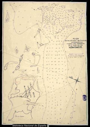 Plano de Ysla Rl. Cathca. de Sn. Carlos