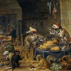 Banquete de monos