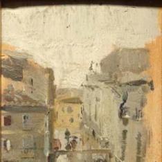 Una calle de Italia