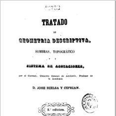 Tratado de geometría descriptiva, sombras, topográfico y sistema de acotaciones