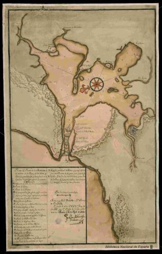 Plano del Puerto de la Havana