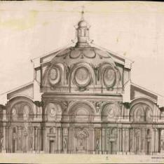 Sección de una iglesia