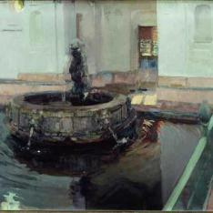 Fuente de Felipe II del Alcázar de Sevilla