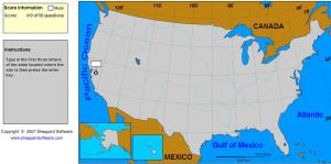 States of United States. Explorer plus. Sheppard Software