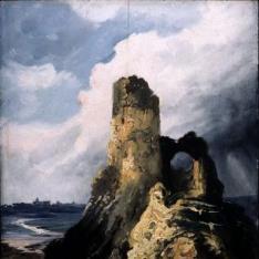 Un torreón en ruinas