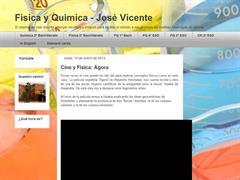 Física y Química - José Vicente