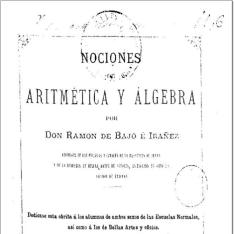 Nociones de aritmética y álgebra