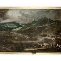 Batalla en Italia - El Socorro español de la ciudad de Bestagno por el marqués de la Hinojosa el 21 de abril de 1615