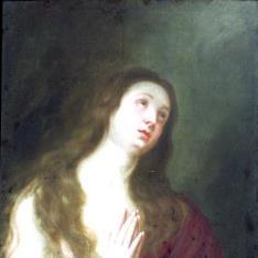 Magdalena en oración