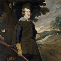 Felipe IV en traje de cazador