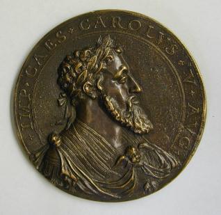 Medalla de Carlos V y Felipe II