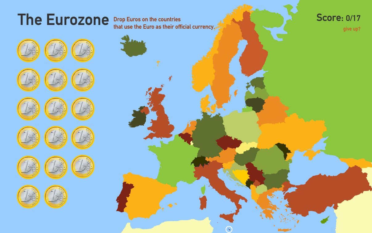 The Eurozone. Toporopa
