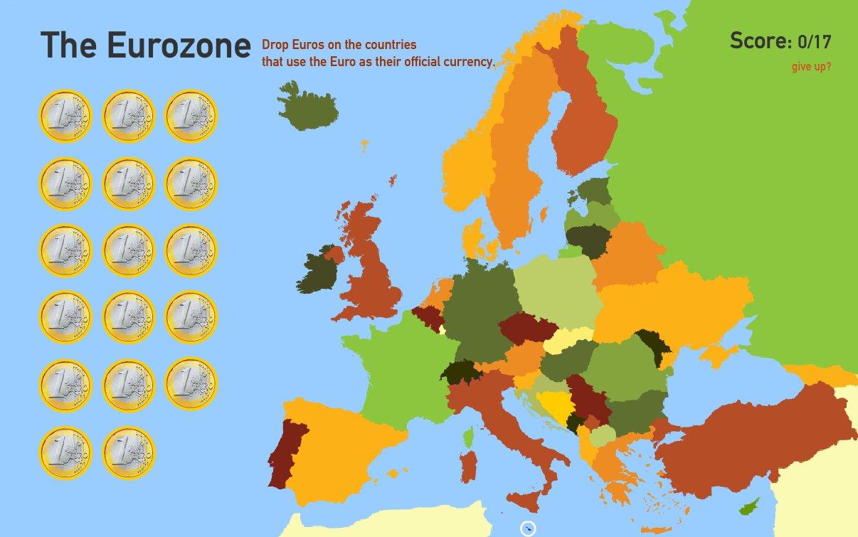 The Eurozone. Toporopa
