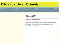 Primeiro ciclo en Quintela