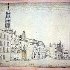 Vista de la Calle del Coso, Zaragoza