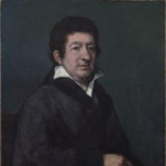 Retrato del poeta Moratín