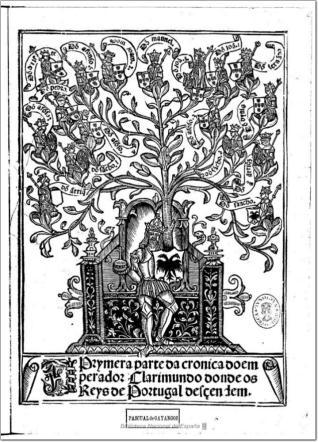 Prymera parte da cronica do emperador Clarimundo donde os Reys de Portugal desçendem