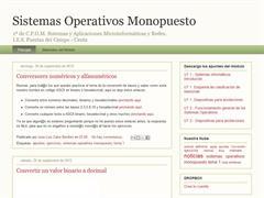 Sistemas Operativos Monousuarios