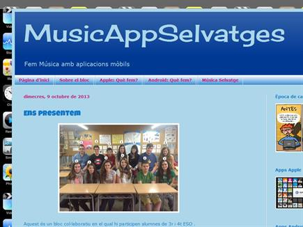 MusicAppSelvatges