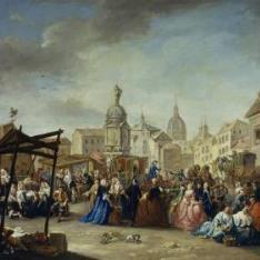 La Feria de Madrid en la plaza de la Cebada