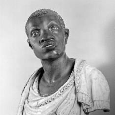 Busto de un etíope