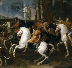 La caza de Atalanta y Meleagro