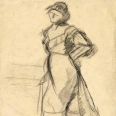 Sin título (Mujer de pie)
