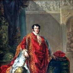 Fernando VII, con el hábito de la Orden del Tosión de Oro