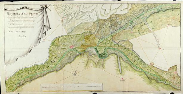 Plano de la villa de Talavera