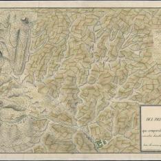 Mapa del Canal de Guadarrama